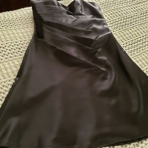 NWT💞ALFRED ANGELO SATIN STRAPLESS COCKTAIL DRESS